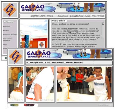 Site Galpão Esportes Br3 Site sites cases image