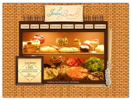 Site Restaurante Jardim Gourmet Br3 Site sites cases image