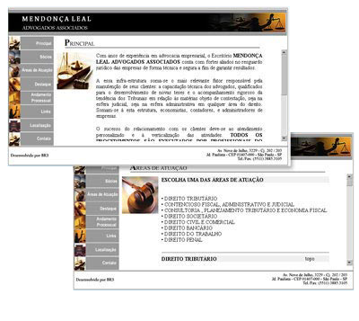 Site Mendonça Leal Br3 Site sites cases image