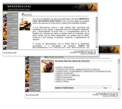 Site Mendonça Leal