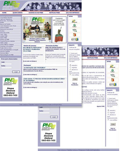 Novo Site PNBE Br3 Site sites cases image