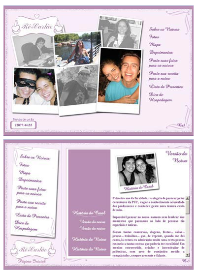 Hot Site Casamento Renata e Carlos Br3 Site sites cases image