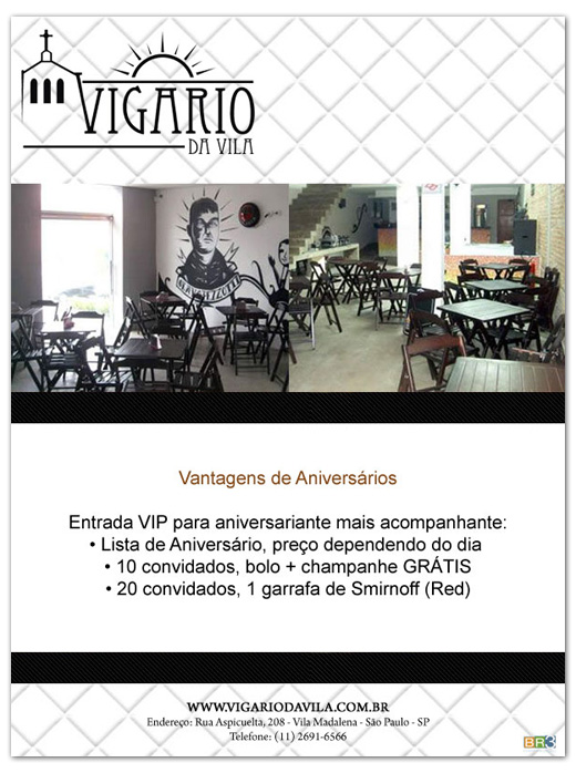 E-mail marketing de aniversário Vigário da Vila Br3 Site sites cases image