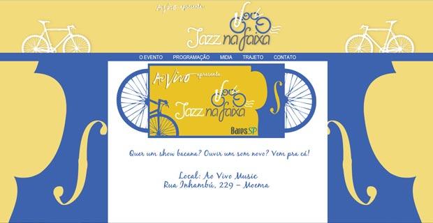 Jazz na Faixa - Site