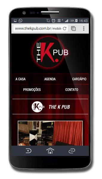 Site mobile do The K Pub Br3 Site sites cases image
