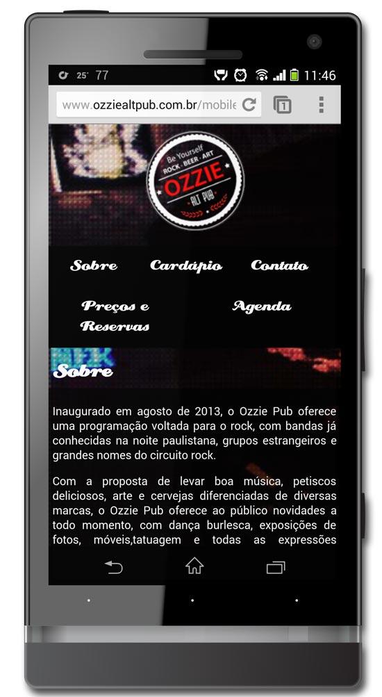 Ozzie Alt Pub - Mobile Br3 Site sites cases image