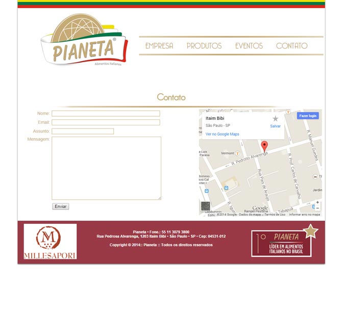Il Pianeta - Novo site