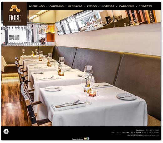 Site Fiore Restaurante