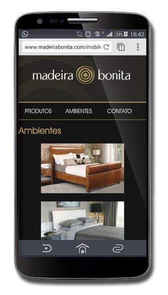 Site Mobile - Madeira Bonita