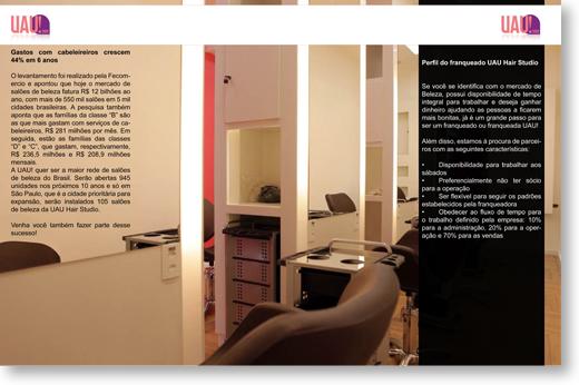 Folder Brochura - UAU!