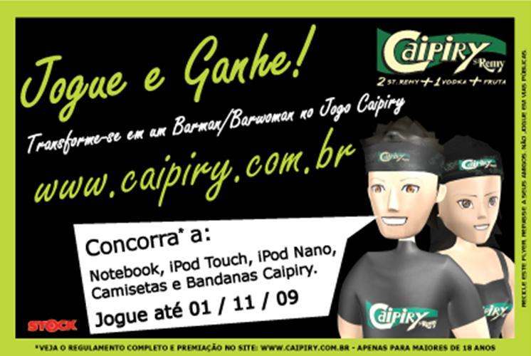 Ação Promocional Caipiry