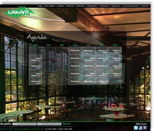 Site - Bar Camará