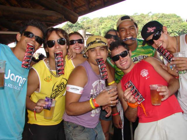 Ação de Sampling Blowtex no Carnamauá 2007