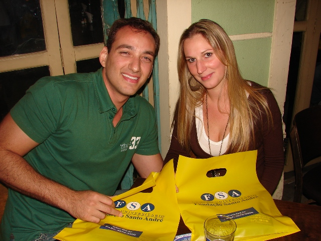 Blitz Promocional da Fundação Santo André (Vestibular 2008)