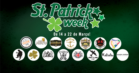 Identidade visual St. Patrick Week