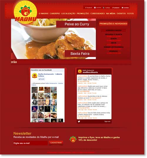 Site - Madhu Restaurante Br3 Site sites cases image