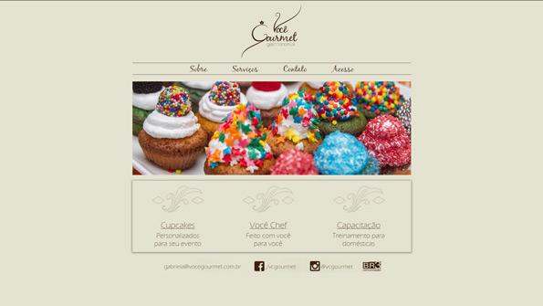 Site - Você Gourmet Gastronomia