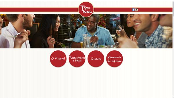 Criação de site - Tapas Week