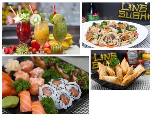 Fotos profissionais tiradas para o Lins Sushi Br3 Site sites cases image