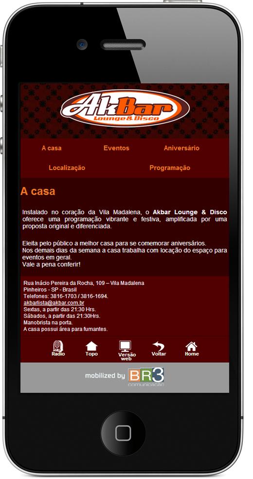 Site Mobile - Akbar
