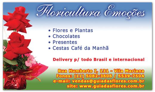 Anúncios Floricultura Emoções Br3 Site sites cases image