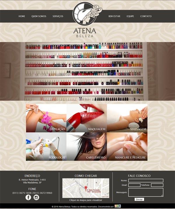 Site Atena Beleza