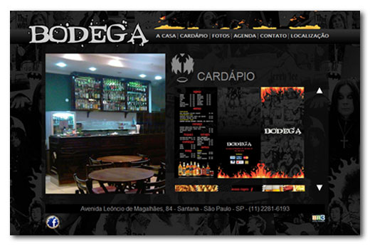 Site Bodega Rock Bar