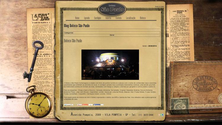 Boteco São Paulo - Blog Br3 Site sites cases image