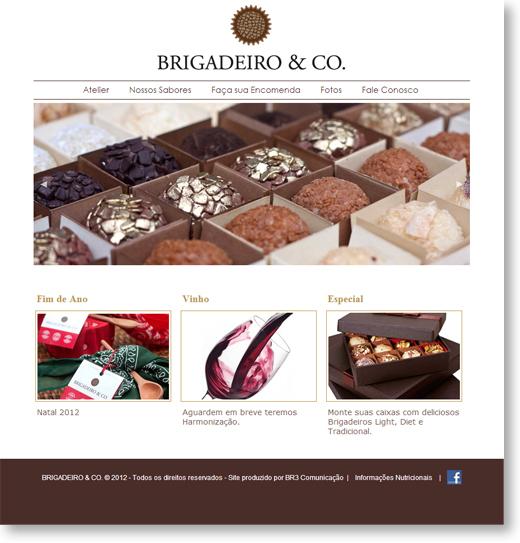 Site - Brigadeiro & CO Br3 Site sites cases image