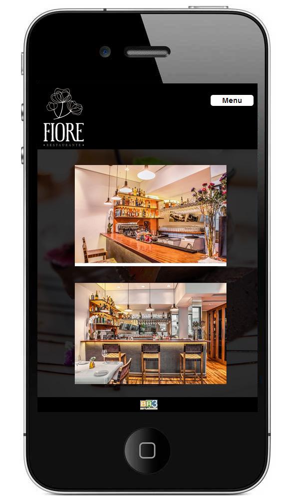 Site Mobile Fiore Restaurante