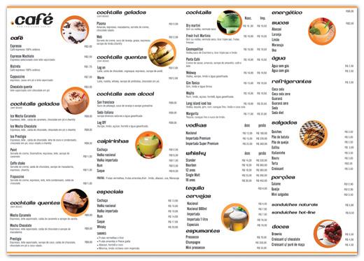 Cardápio Ponto Café