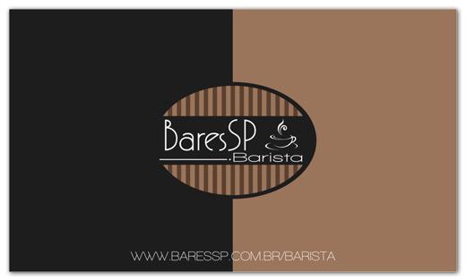 Cartão de visitas BaresSP Barista