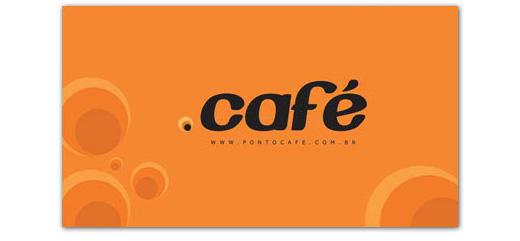 Cartão de visita Ponto Café