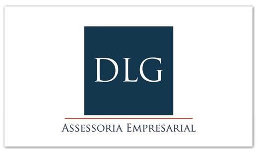Cartões de Visita DLG Assessoria Empresarial Br3 Site sites cases image