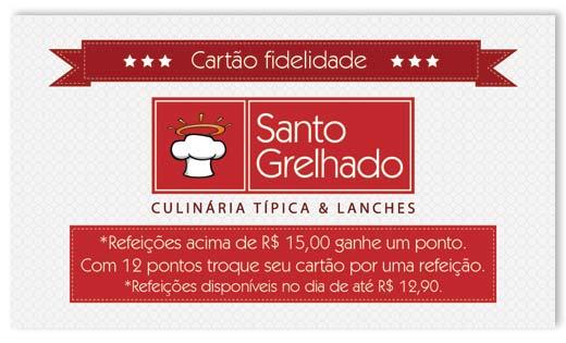 Cartão Fidelidade Santo Grelhado Br3 Site sites cases image