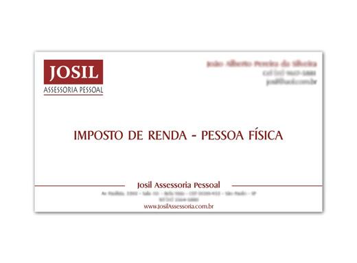Cartão de visita Josil Assessoria
