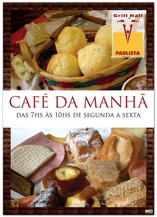 Display de mesa Grill Hall Paulista