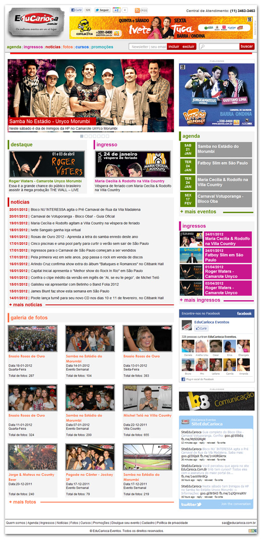 Portal EduCarioca Br3 Site sites cases image