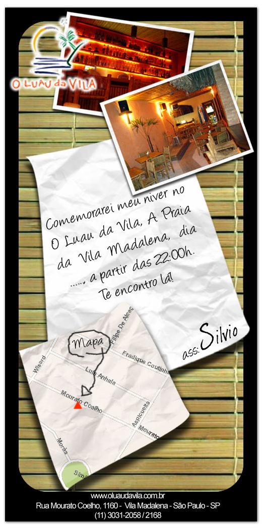 E-mail Marketing Luau da Villa