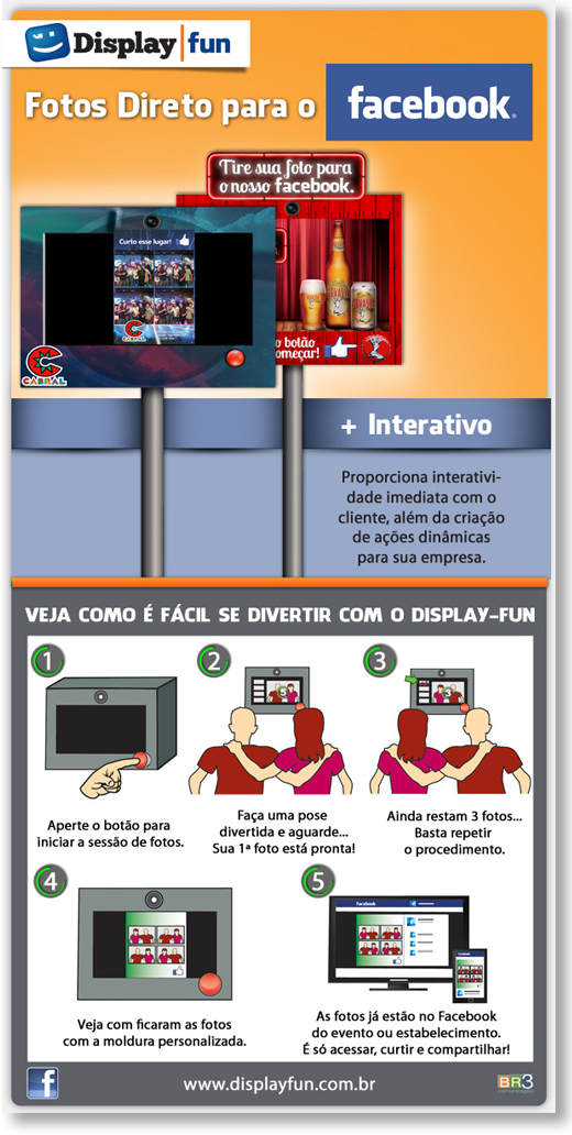 Criação de Email Marketing - Display Fun Br3 Site sites cases image