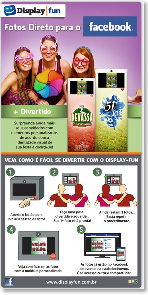 Criação de Email Marketing - Display Fun