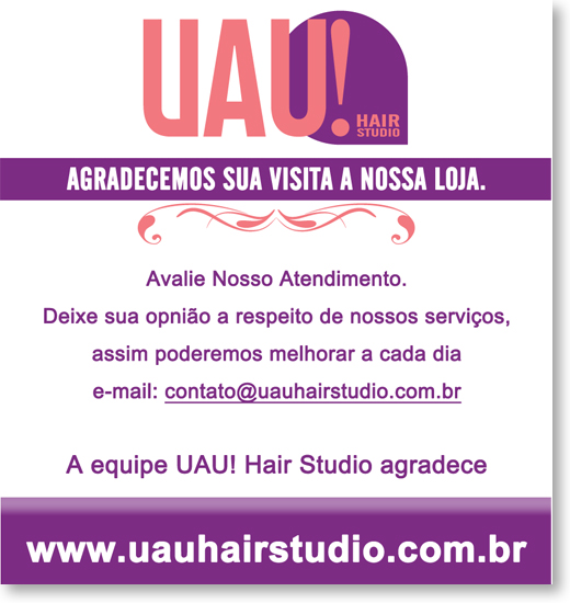 Email Marketing de visita - UAU!