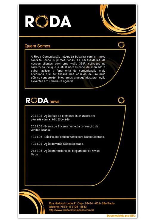 E-mail Marketing Roda