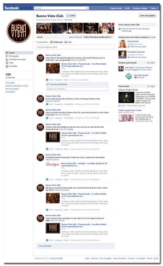 Redes Sociais Buena Vista Br3 Site sites cases image