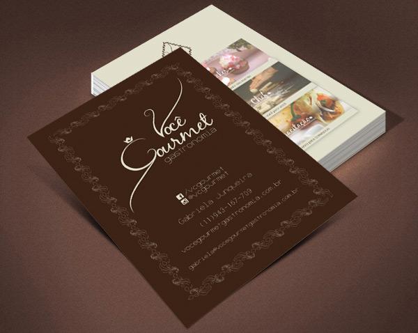 Flyer - Você Gourmet Gastronomia Br3 Site sites cases image