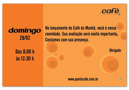 Flyer Café da Manhã Ponto Café