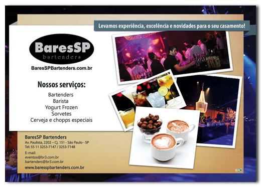 Flyer de Casamentos BaresSP Bartenders