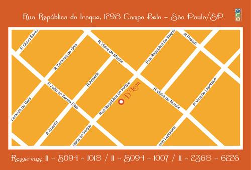 Flyer Impresso - D Leon