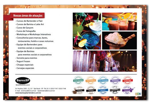 Flyer de Workshop BaresSP Bartenders