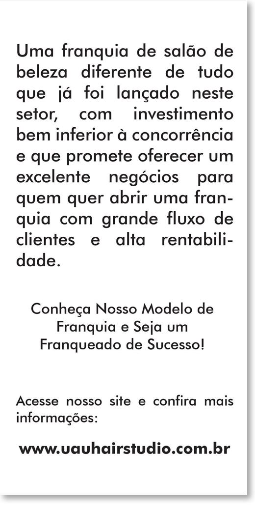 Flyer Franquia - UAU